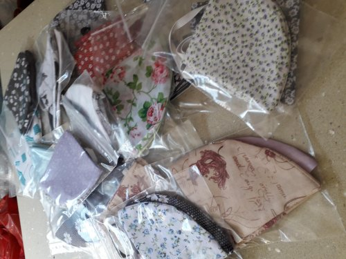 SueSew are now making face masks!