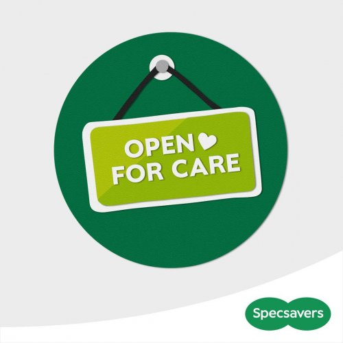 Specsavers is open